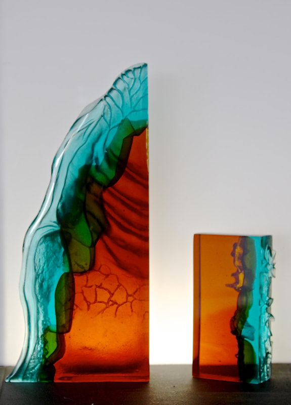 "Lee Howes, ""Australian of the Year Awards"", Cast Glass, Commission"