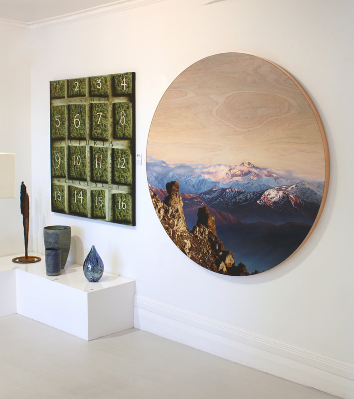 Ben Timmins Artworks In Situ at Black Door Gallery