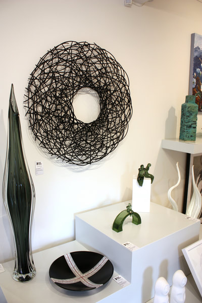 Jamie Adamson Artwork In Situ at Black Door Gallery