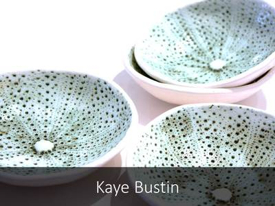 Buy and View work by Kaye Bustin Ceramic