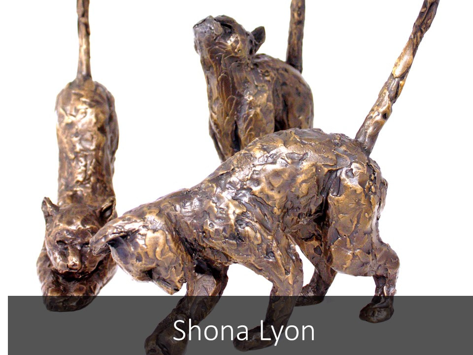 Buy and View Shona Lyon Bronze Sculptures